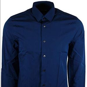 Express Navy dress shirt